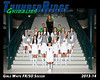 2013 Soccer Girls TRHS White 16x20 Team