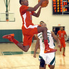 Elyria's Ronnie Smith drives to the basket. LINDA MURPHY/CHRONICLE