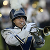 Maya Lebron plays at half time in the Clearview band. photo by Ray Riedel