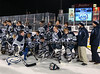 December 22, 2013;  Rochester, NY; USA; Gates Chili Spartans Hockey vs. Penfield Patriots at Frontier Field  Photo: Christopher Cecere
