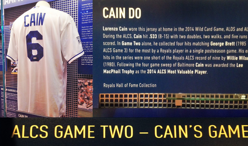 Talented outfielder and hitter Lorenzo Cain