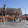 Walking up to Neyland