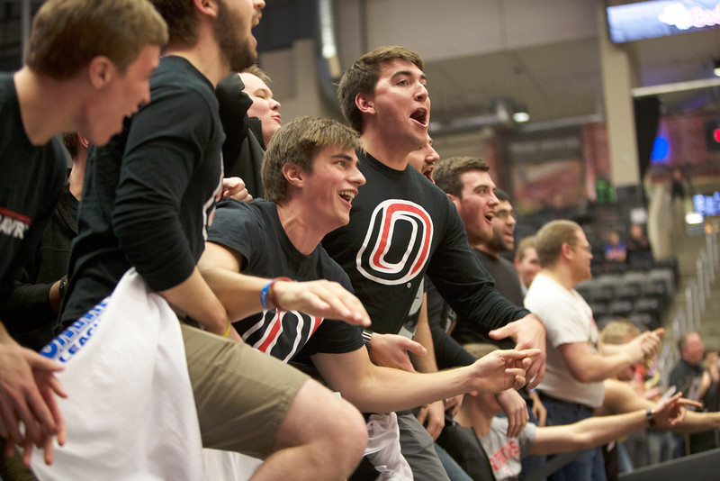 UNO student section