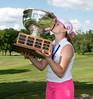 Jean Tyrrell earned this title with her 75-77 finish and is the Junior Championship Medalist.
