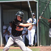 Hayden Calvert at bat - Baseball Nationals in Geelong