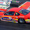 Patrick Ross Sr. of Avon Lake in comp eliminator at Summite Reacing NHRA Nationals at Norwalk on July 4. STEVE MANHEIM/CHRONICLE