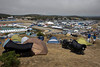 Fox Hill motorcycle camping at 2012 Red Bull USGP MotoGP at Mazda Raceway Laguna Seca