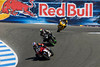 AMA Supersport race action