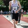 Tweede plaats voor Klaas Callens op de 800 JSM - Memorial Leon Denys - Atletiekpiste Izegem - West-Vlaanderen