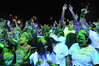 #NeonVibe 5k run in Jacksonville, Florida, was a great success and looked like a lot of fun.