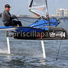 Anthony Kouton, second place in the regatta