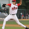 Spinners starting pitcher Jake Drehoff. (SUN/Julia Malakie)