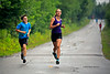 Julien White & Genevieve Harvey, in synch.<br /> Stage 2: 2K run<br /> ACBQ camp #2, Sherbrooke<br /> July 27, 2014