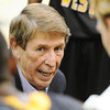January 2013 file photo of Missouri Western coach during a game against MSSU at Leggett & Platt Athletic Center.<br /> Globe | T. Rob Brown