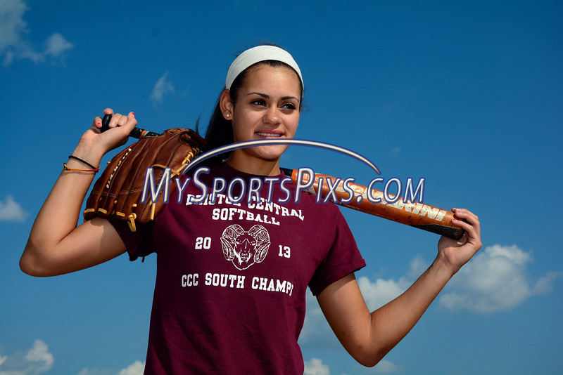 7/22/2014 Mike Orazzi | Staff<br /> Bristol Central's Chandler Walker is The Bristol Press female athlete of the year.