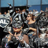 """<p><b> A new survey of NFL players finds that this is the league's least desirable team … </b> </p><p> A. Oakland Raiders </p><p> B. Jacksonville Jaguars </p><p> C. Mr. & Mrs. Ray Rice </p><p><b><a href=""""http://www.cbssports.com/nfl/eye-on-football/24679878/nfl-player-poll-finds-that-raiders-are-least-desirable-team-to-play-for"""" target=""""_blank"""">LINK</a></b> </p><p>  (Brian Bahr/Getty Images)</p>"""