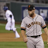 "10. (tie) HUNTER STRICKLAND <p>You'd be a little pissy, too, if you gave up five homers in five postseason innings. (previous ranking: unranked) </p><p><b><a href=""http://espn.go.com/mlb/playoffs/2014/story/_/id/11748464/mlb-hunter-strickland-big-blowup-game-2"" target=""_blank""> LINK</a></b> </p><p>   (AP Photo/Matt Slocum)</p>"