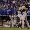 """10. (tie) MADISON BUMGARNER <p>Was so unhittable in World Series, it was as if he were pitching to the Twins. (previous ranking: unranked) </p><p><b><a href=""""http://www.twincities.com/sports/ci_26827349/giants-ace-bumgarner-wins-world-series-mvp"""" target=""""_blank""""> LINK</a></b> </p><p>   (AP Photo/David J. Phillip)</p>"""