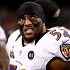 "6. RAY LEWIS <p>That was a snazzy white suit he was wearing the night of those Atlanta slayings. Too bad it mysteriously disappeared.  </p><p><b><a href=""http://grantland.com/the-triangle/remembering-the-ray-lewis-controversy/"" target=""_blank""> LINK </a></b> </p><p>    (Chris Graythen/Getty Images)</p>"