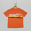 Cool Coverstitch Tee - Orange