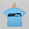 Cool Coverstitch Tee - River Blue