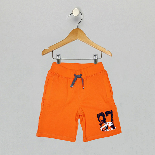 Varsity Knit Short - Orange