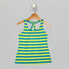 Twist Tank - Cool 2 Color Stripe