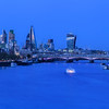 Night view of the City of London