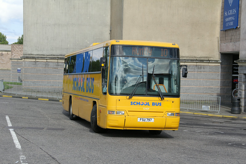 Stagecoach Bluebird 52409 EBS 4 Aug 14
