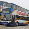 Stagecoach Bluebird 17328 Insch Depot Mar 14