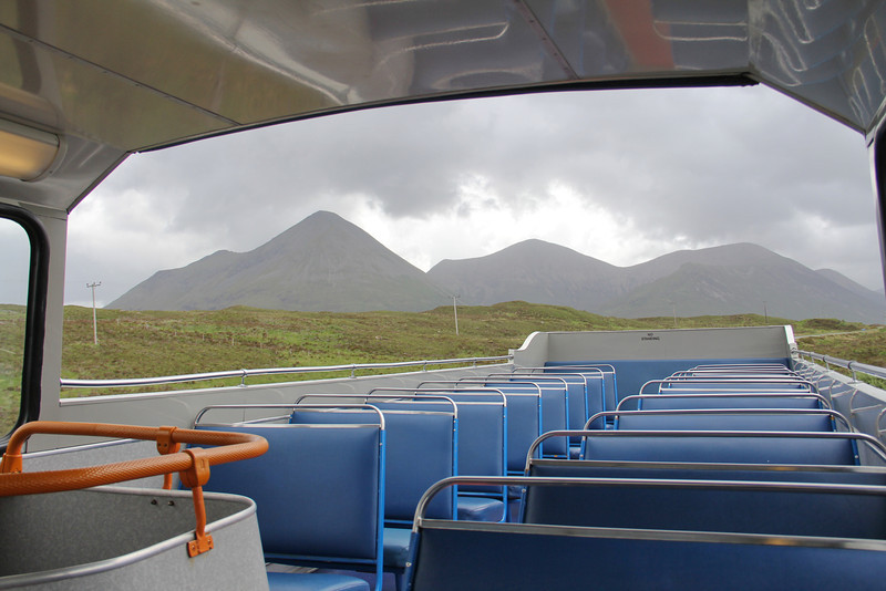 Stagecoach Highlands 16329 Cuillins View leaving Sligachan 1 Jun 13