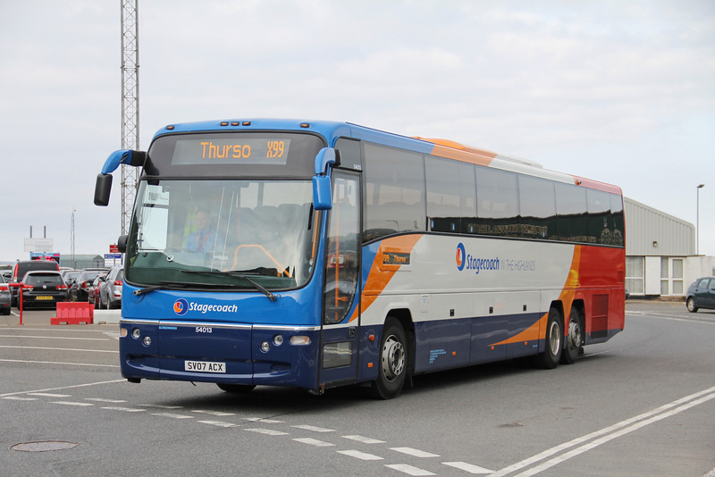 Stagecoach Highlands 54013 Scrabster Harbour 3 Jun 13