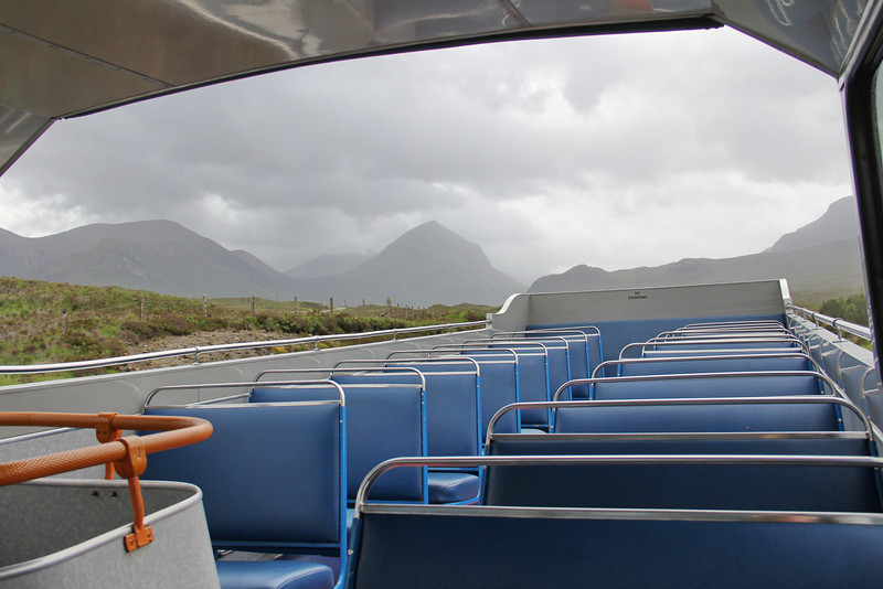 Stagecoach Highlands 16329 Cuillins View leaving Sligachan 2 Jun 13