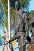STY-VIETNWM 00053 Close up of an American soldier or Marine depicted in a Vietnam War Memorial statue picture by Peter J Mancus