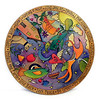 "Sticks® Lazy Susan - LZY001 - ""Seek Peace"" at Smith Galleries"