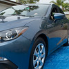 2015 Mazda 3 Hatchback lines, Perry's new car 5/25/2015