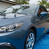 Lines of the 2015 Mazda 3 Hatchback, Perry's first new car 5/25/2015