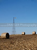 (Marion, Iowa) This image captures a broken down wind mill on a farm outside Marion, iowa.