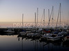 (Seattle, WA) ...sailboats safe in the harbor on the Puget Sound, Washington.