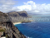 (Hawaii, Oahu) This image was captured after a long climb to Makapuu Point.  The contrast of the deep blue ocean against the white clouds is breath-taking.