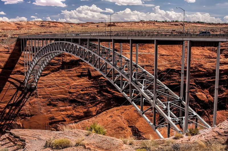 Glen Canyon Bridge near Page, Arizona