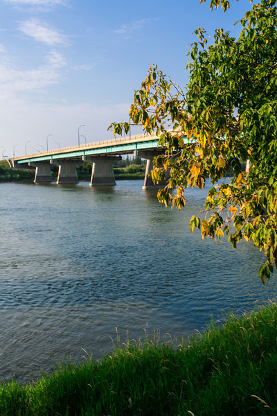 Dienfenbaker Bridge in Prince Albert