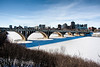 Bridge and downtown Saskatoon