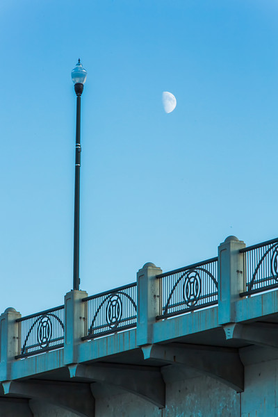 Bridge Details at Dusk