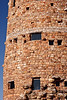 Details of the Desert View Watchtower at the Grand Canyon