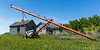 Grain Auger on the Farm