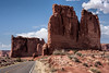Highway in Arches National Park