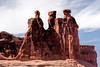 Three Gossips formation in Arches National Park