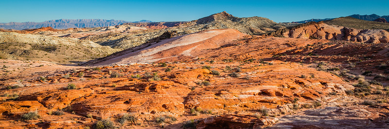 Rock Formations in the Valley of Fire