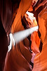Sun beam in Slot Canyon